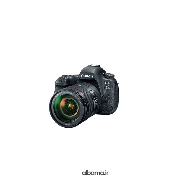 دوربین عکاسی دیجیتال EOS 6D Mark II with Canon EF 24-70mm f-4L IS USM Lens Kit کانن