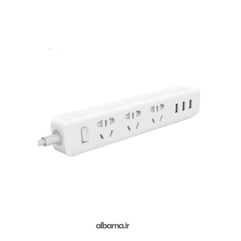 سه راهی برق USB دار شیاومی مدل XMCXB01QM | Xiaomi XMCXB01QM 3 Sockets 3 USB Power Strip