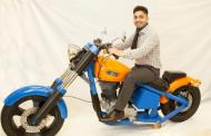 نگاهی به اولین موتورسیکلت پرینت شده